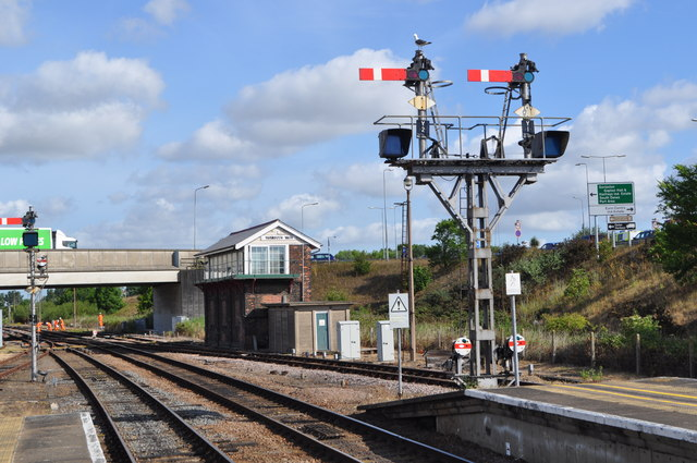 Yarmouth Vauxhall Signal Box