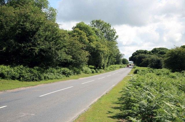 Moorland Road nr Crapstone