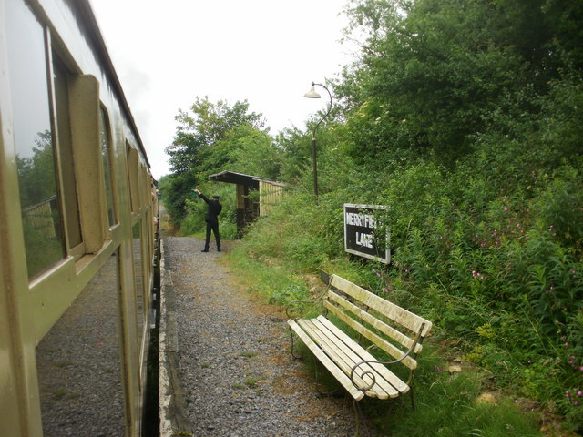 Merryfield Lane Halt station