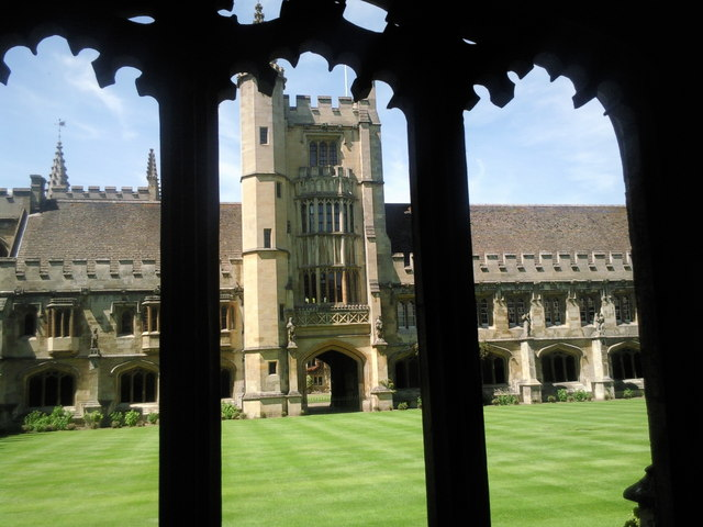The Cloister, Magdalen College
