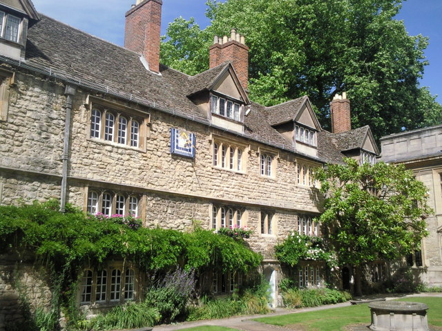 The earliest part of St Edmund Hall, Oxford