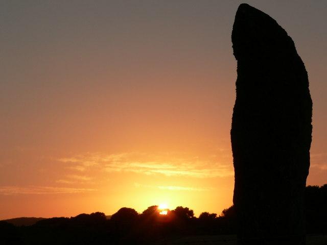 Sunset at Drumtroddan