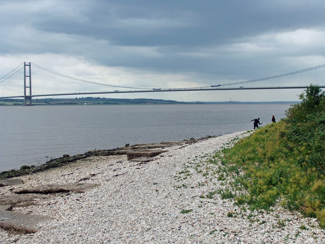 Humber Foreshore near Hessle Haven