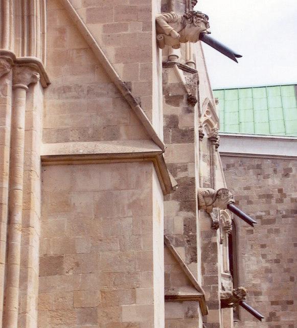 Gargoyles Chichester Cathedral