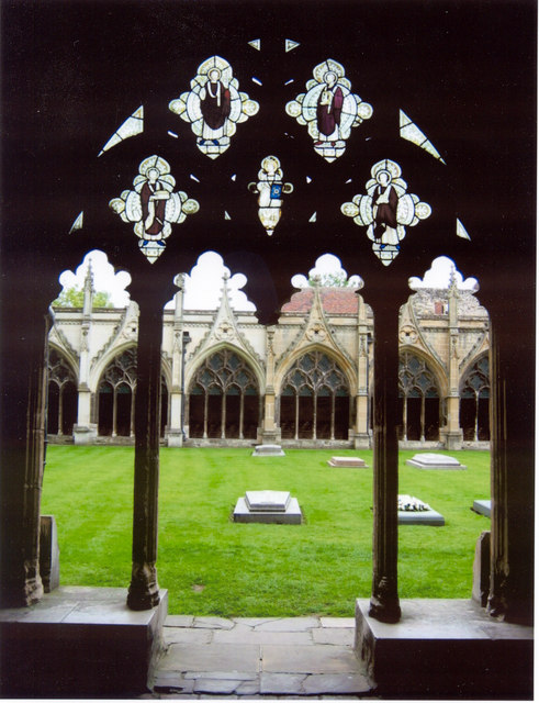 Cloisters Canterbury Cathedral