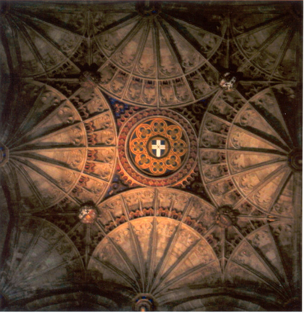 Ceiling Apse Canterbury Cathedral