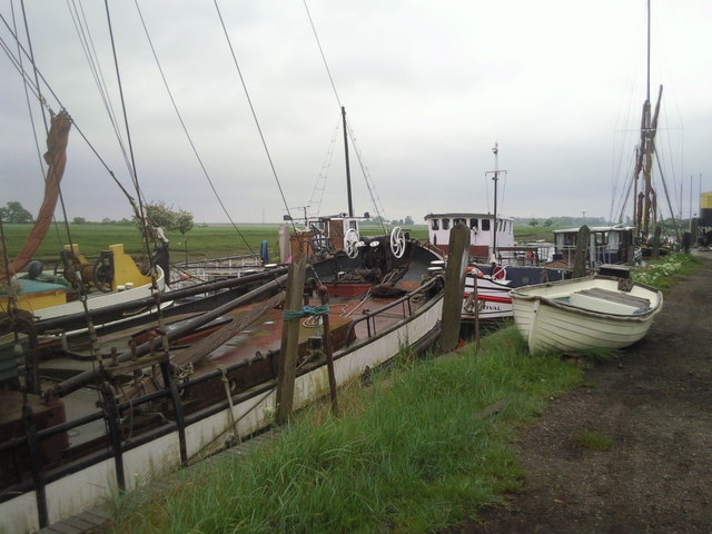 Boatyard on the outskirts of Faversham