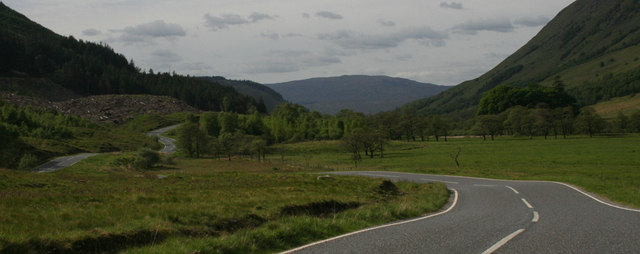 Road in Glen Nevis