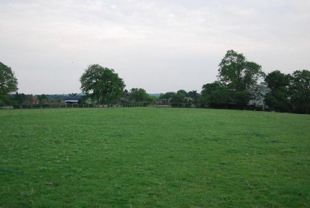 Field west of Charcott Farm