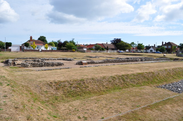 Single Storey Building at Caister Roman Fort
