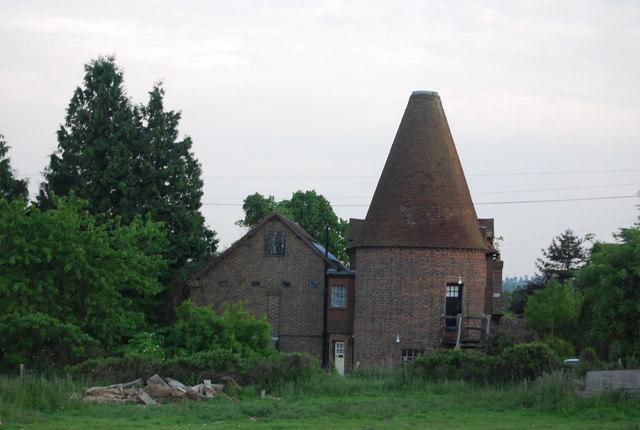 Camphill Oast house