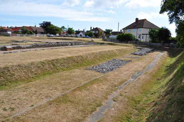 Site of Caister on Sea Roman Fort