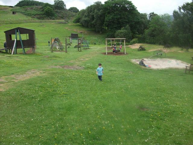 Auchingarrich's play area