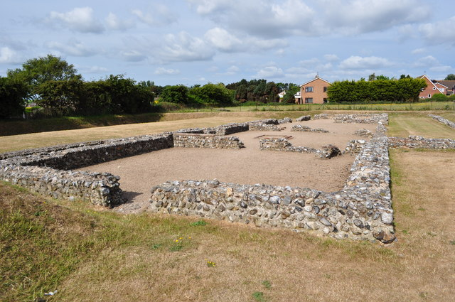 Roman House at Caister on Sea