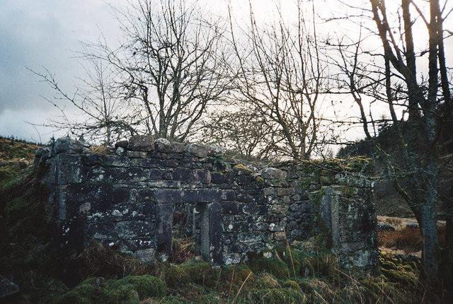 Farm Ruins - Gisburn Forest - Bowland