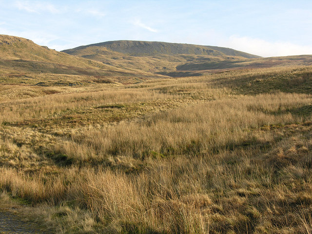 North west approaches to Pumlumon Fawr