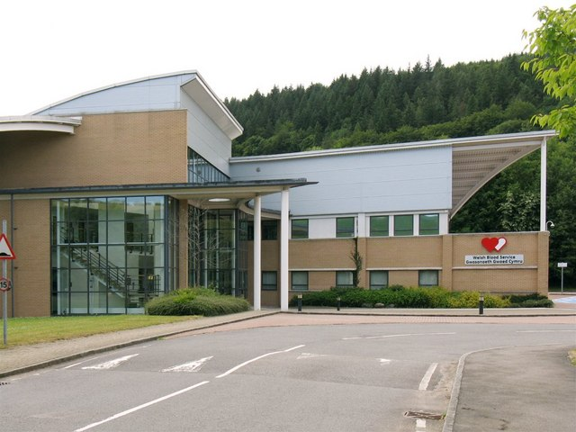 Welsh Blood Service Headquarters