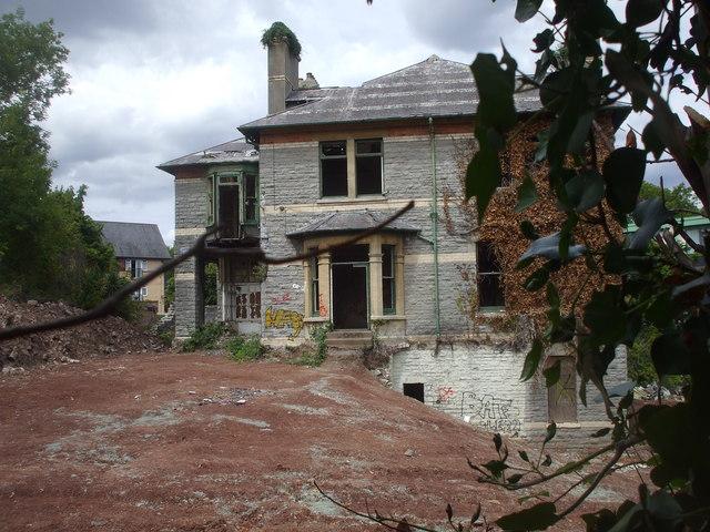 Derelict house, Penarth