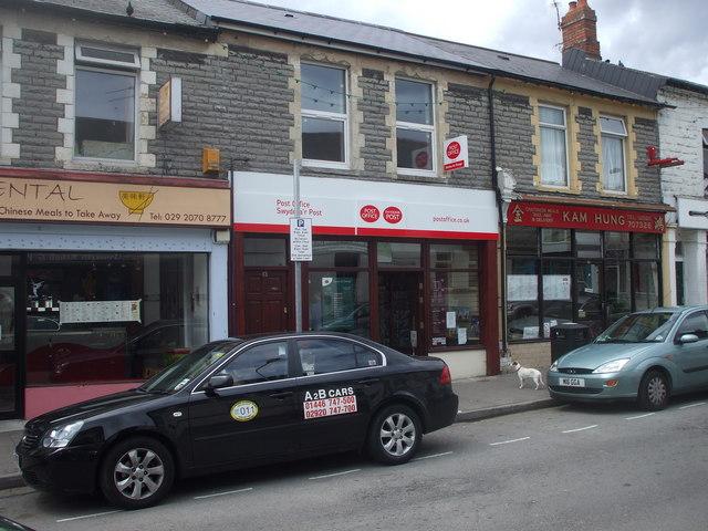 Post Office, Glebe St, Penarth