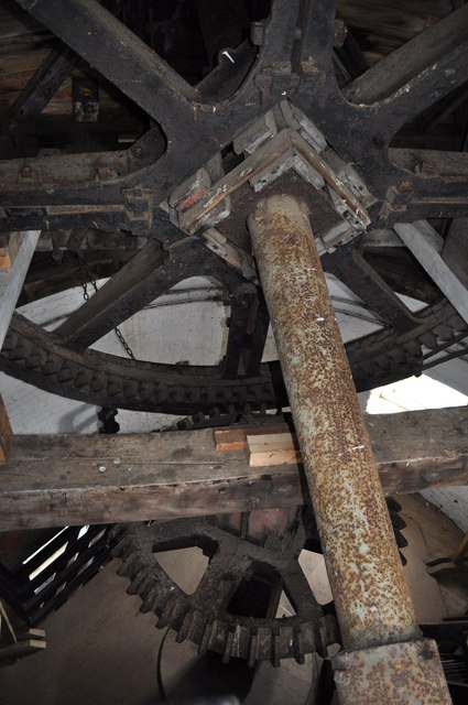 Large Cogs in Hornsey Windpump