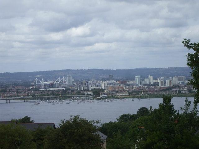 Cardiff's cityscape