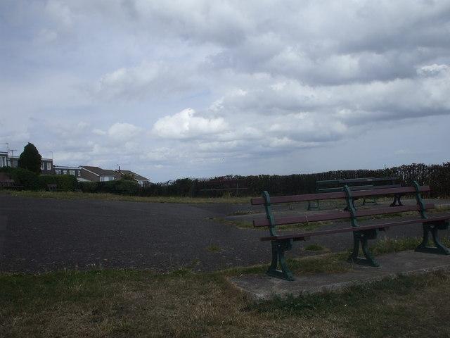 Seats in the Penarth Head viewing area