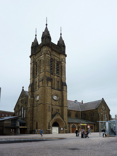 St John the Evangelist, Church Street, Blackpool