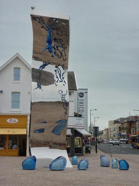 The Wave, Cedar Square, Blackpool