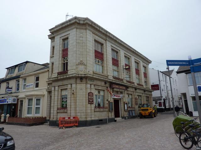 Cedar Tavern, Cedar Square, Blackpool