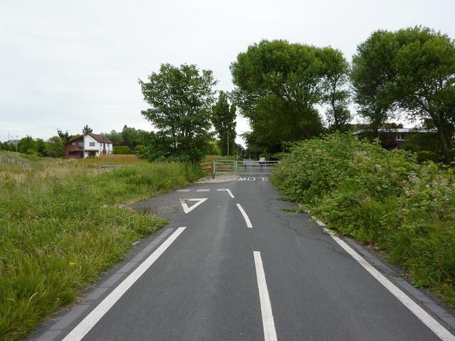 Dead end, North Houses lane