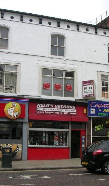 Relics Records - New Briggate