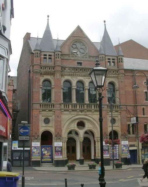 Entrance to the Grand Theatre - New Briggate