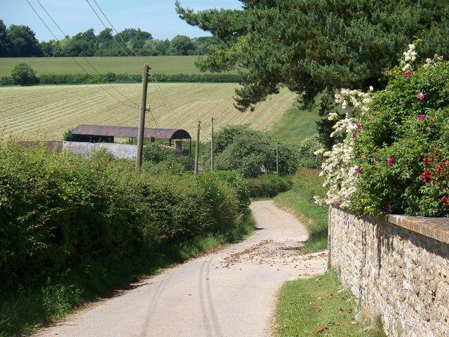 Driveway to Slade Farm
