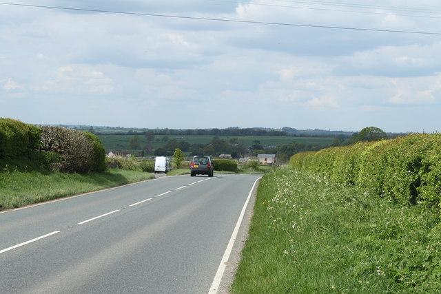 2010 : A37 heading north toward Ston Easton and Bristol
