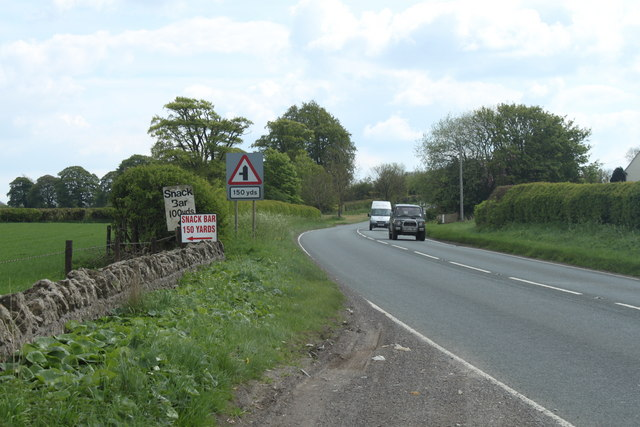 2010 : A37  heading south toward Old Down