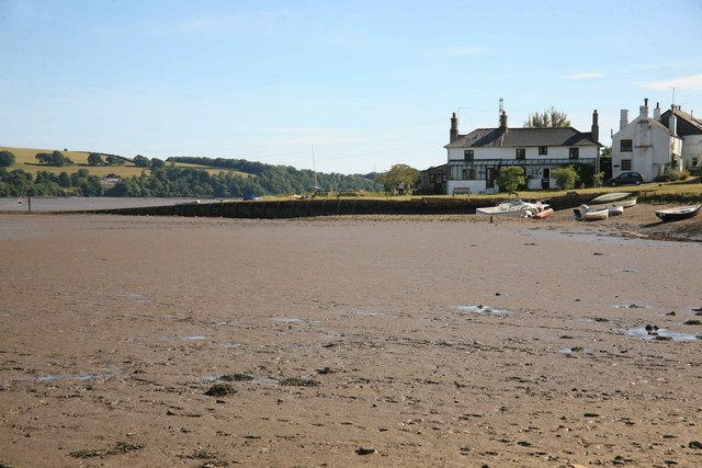 Bere Ferrers the tide is out