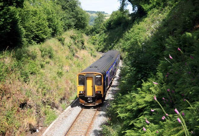 Tamar Valley Line train