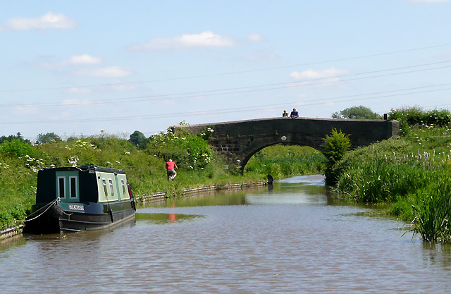 The Ashby Canal north of Marston Jabbett, Warwickshire