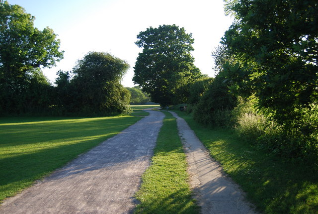 National cycleway 12 and the Wealdway