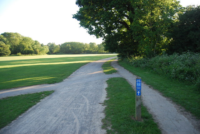 The Wealdway and Cycleway 12