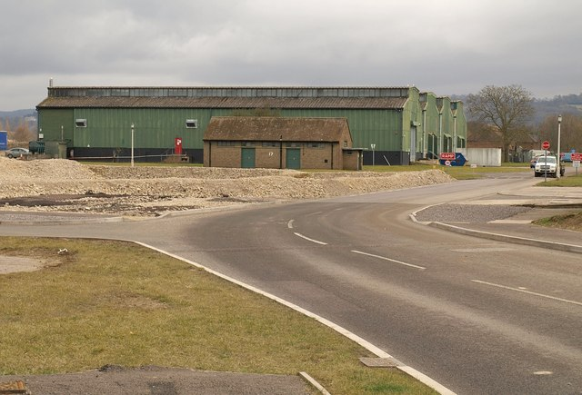 Buildings of former RAF Quedgeley