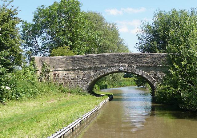 Lloyd's Bridge near Marston Jabbett, Warwickshire