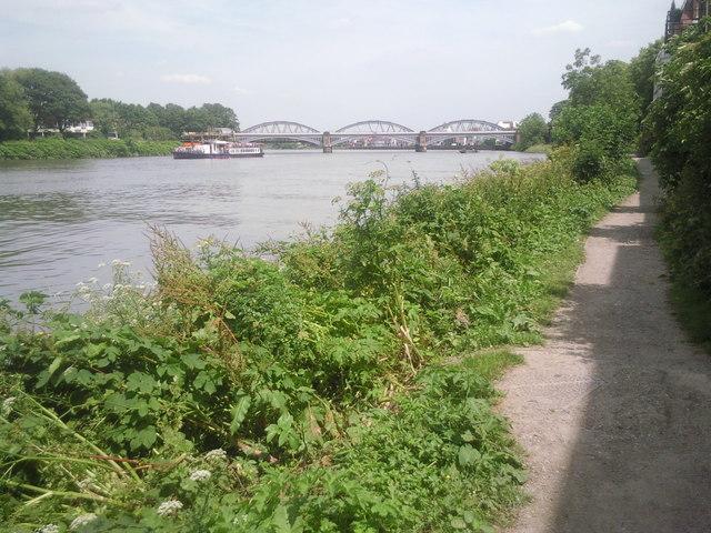 The Thames Path at Barnes