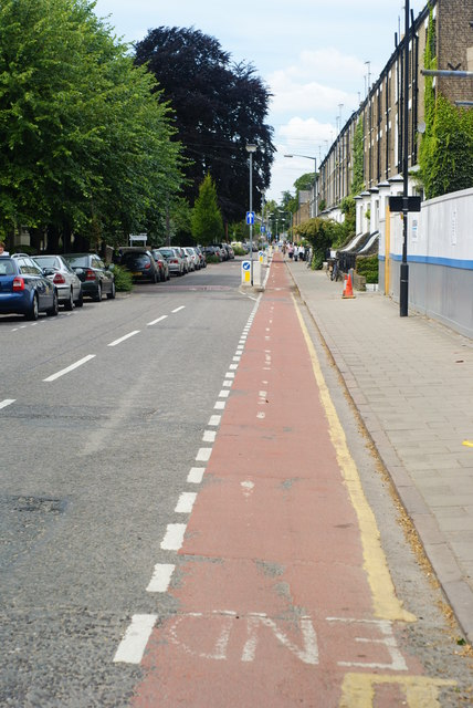 Cycle Lane, Cambridge