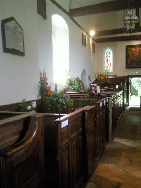 Interior of Badlesmere Church