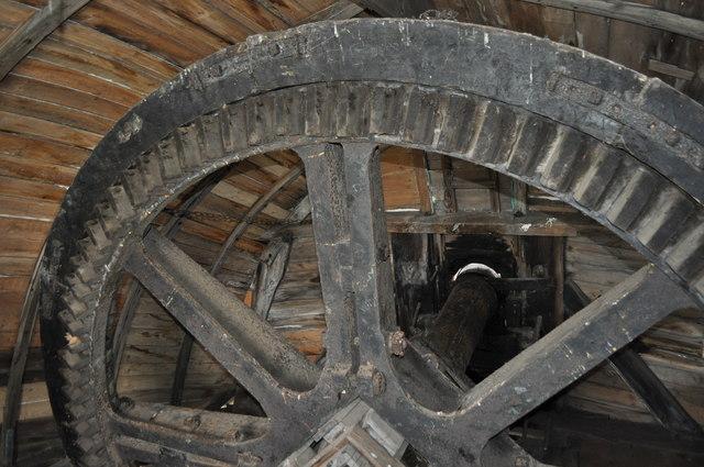 Inside Horsey Windpump