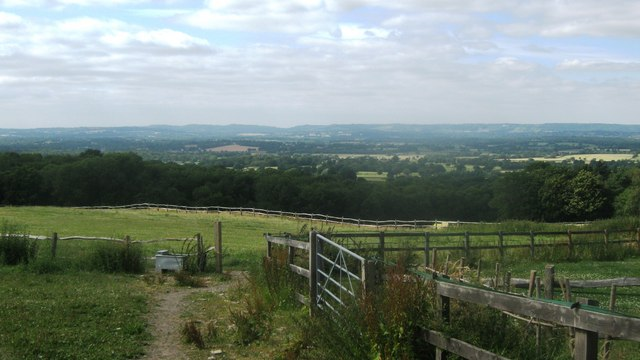 View from Dry Hill Farm track