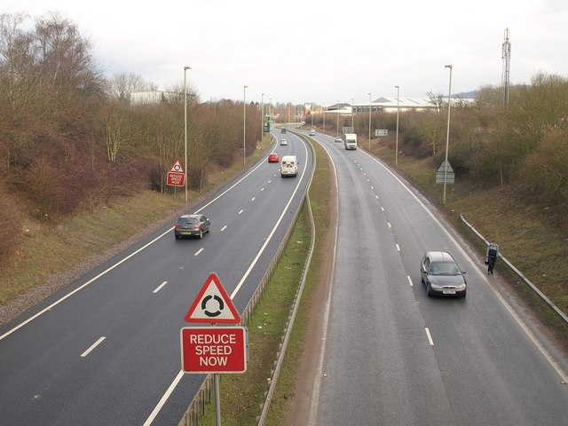 A38 at Quedgeley