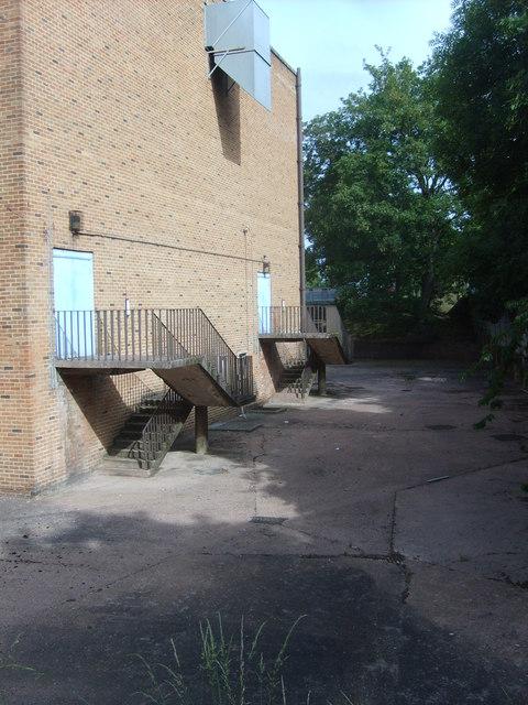 Bilston Baths Stairs