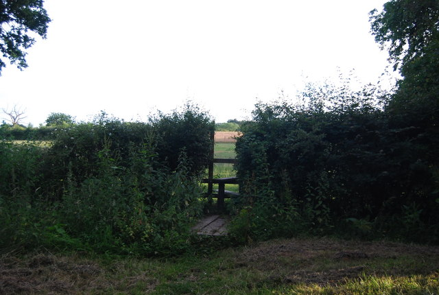 Footpath off Hale Oak Road